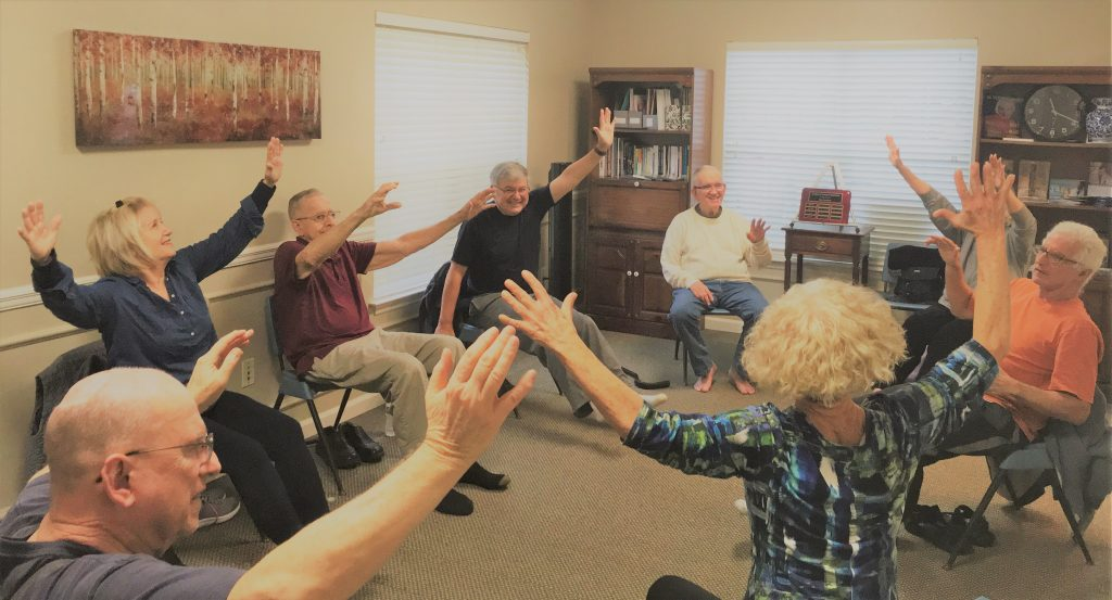 Friday Morning Ageless Grace Class in Motion