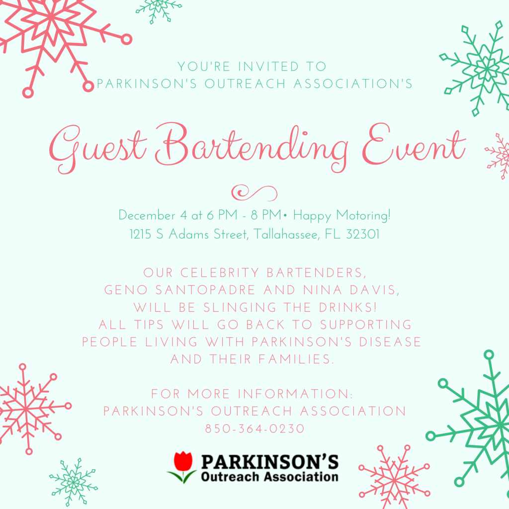 Guest Bartending December 4th at Happy Motoring 6:00 pm